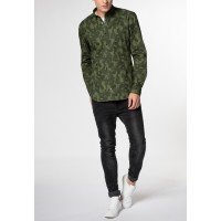 Мужская рубашка зеленая 3592/47/F204 ETERNA