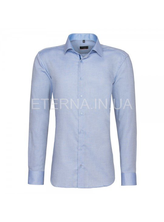 Мужская рубашка  синяя 4408/15/F14P ETERNA