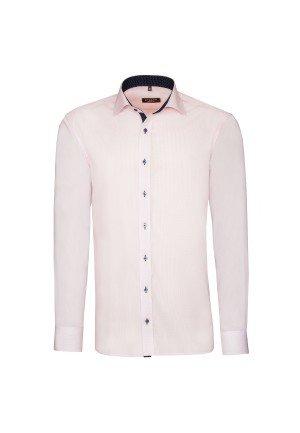 Мужская рубашка розовая 4669/52/X136 ETERNA
