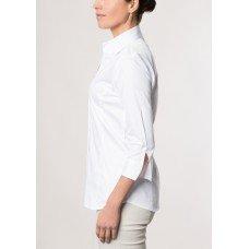 Белая женская блуза ETERNA 5352/00/R688/B/NS6 хлопок с эластаном