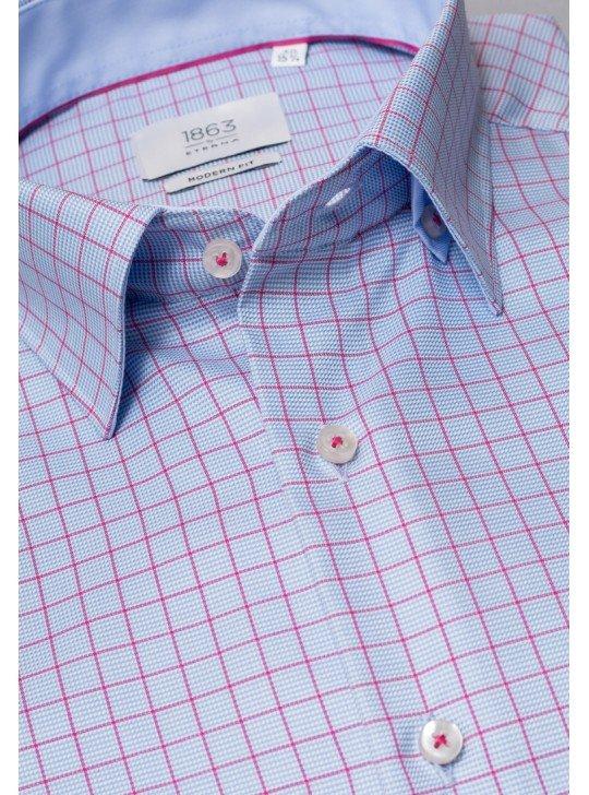 Мужская рубашка в клетку 8078/12/X64X ETERNA
