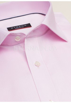 Мужская рубашка розовая 8100/50/X177/NW6 ETERNA