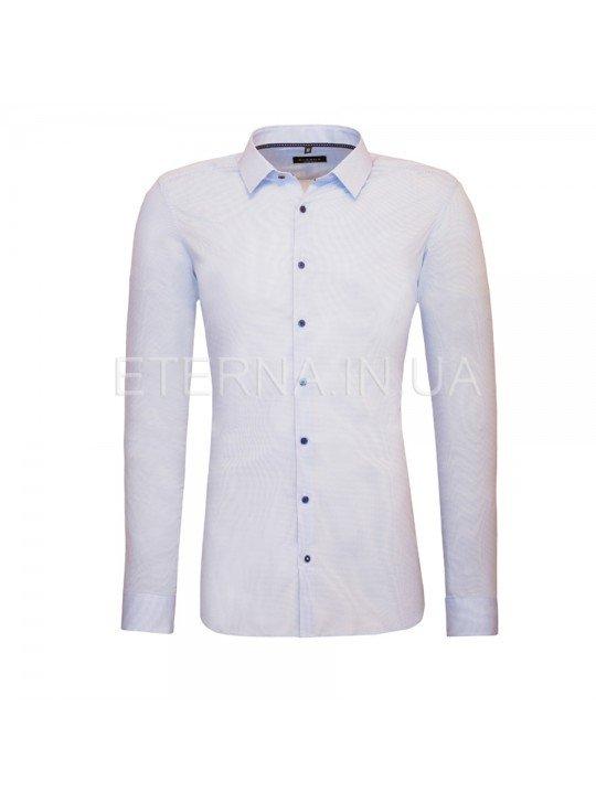 Мужская рубашка голубая 8621/12/Z181 ETERNA