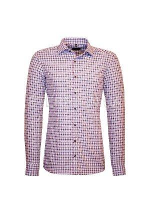 Мужская рубашка фиолетово-синяя 8662/93/F170 ETERNA