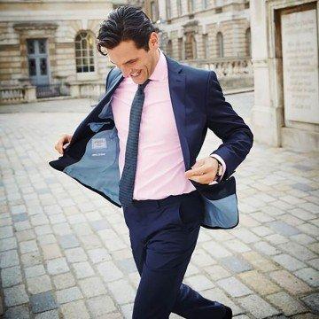 Модный выбор: розовая рубашка для мужчины