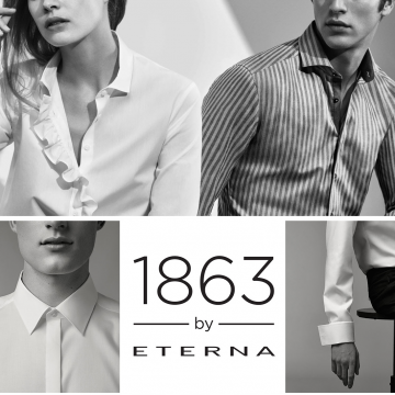 Происхождение бренда мужских рубашек ETERNA