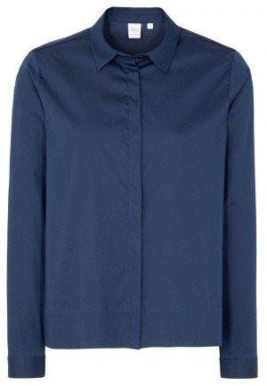 Женская блузка ETERNA 5053/18/DP16/B хлопок, полиамид, спандекс