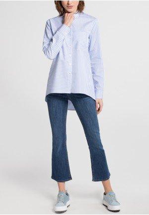 Женская рубашка голубая 6012/11/DP04/B ETERNA
