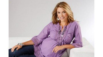 Блузки для беременных