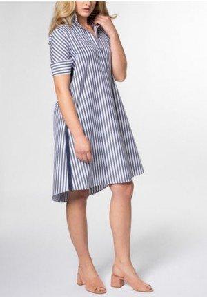 Женская блузка Eterna 6043/19/HP13/B хлопок