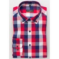 Мужская рубашка в клетку 3049/55/F183 ETERNA