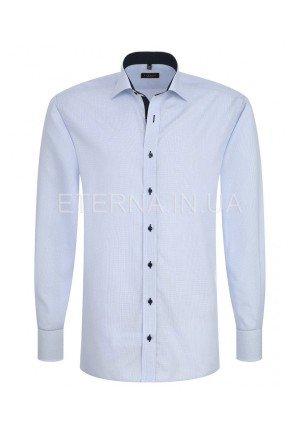 Мужская рубашка голубая 4669/12/X136 ETERNA