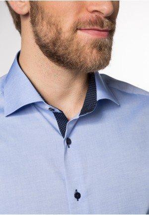 Мужская рубашка голубая 8100/12/X13K ETERNA