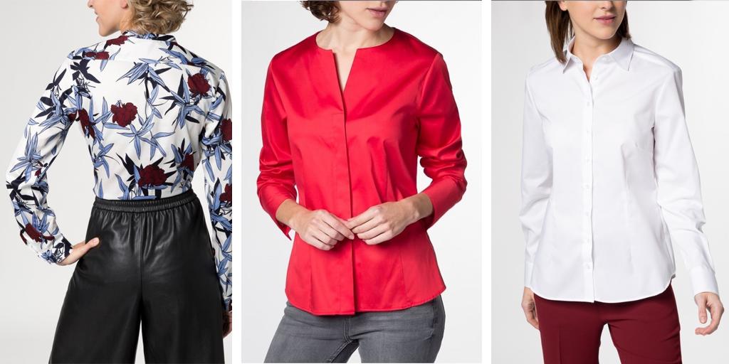 с чем носить блузку